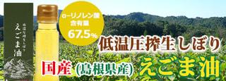 国産島根県 低温圧搾生しぼり えごま油
