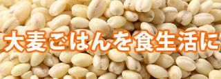 「大麦ごはん」を食生活に取り入れませんか。